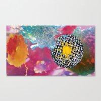 bleach Canvas Prints featuring Cosmic Bleach by HeidiBlake