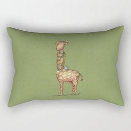 Cleo - green Rectangular Pillow