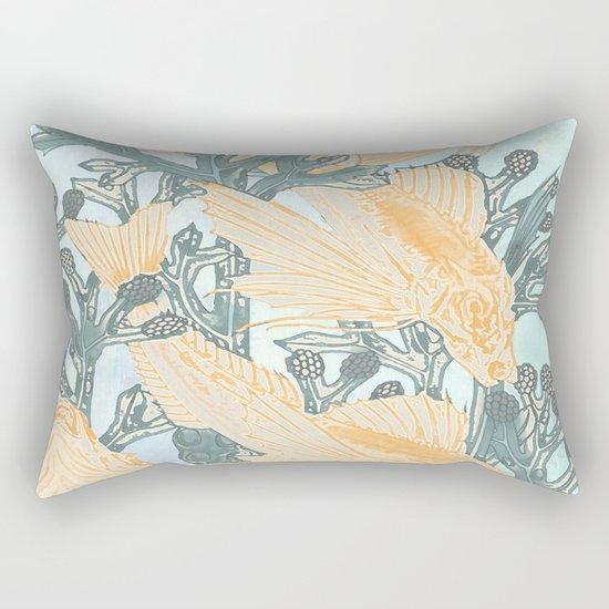 Crazy not to follow Rectangular Pillow