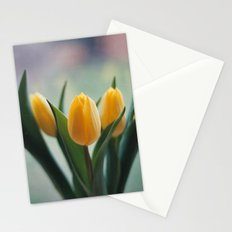 Yellow Tulips Stationery Cards