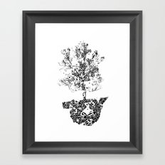 Planted.. Framed Art Print