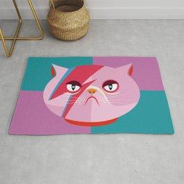 Glam cat Rug