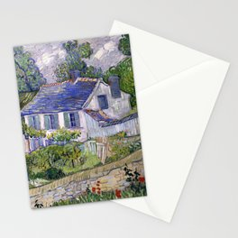 Vincent Van Gogh Houses At Auvers Stationery Cards