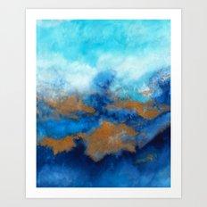 Ocean vibes 01 Art Print