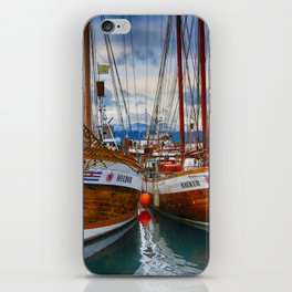 Schooners Hildur and Hauker iPhone Skin