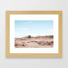 Hurtle of Horses Framed Art Print