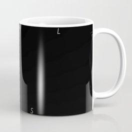 History of Art in Black and White. Minimalism Coffee Mug