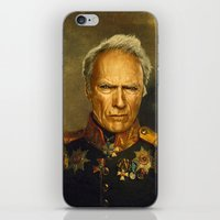 replaceface iPhone & iPod Skins featuring Clint Eastwood - replaceface by replaceface