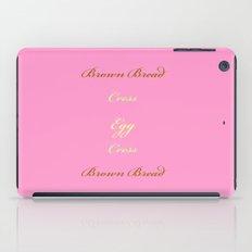 Egg and Cress iPad Case