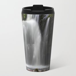 Waterfall at Lumsdale Mill Travel Mug