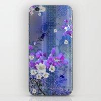 hummingbird iPhone & iPod Skins featuring Hummingbird by Sabah