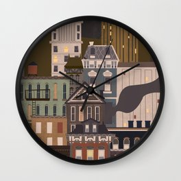 Cincinnati Amour (Carabello Edition) Wall Clock