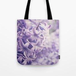 Purple Hyacinth Tote Bag