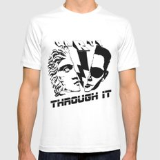 PT it MEDIUM Mens Fitted Tee White