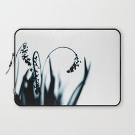 Grace - long grass and flowers Laptop Sleeve