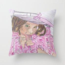 Boa Baby Throw Pillow