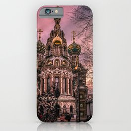 Savior on the Spilled Blood iPhone Case