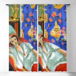 Henri Matisse Odalisque in Red Trousers Blackout Curtain