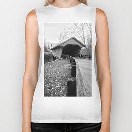 Newfield Covered Bridge 1853 Biker Tank