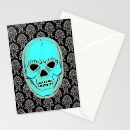 Skull mask Stationery Cards