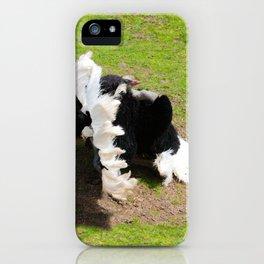 Love the show Ostrich iPhone Case