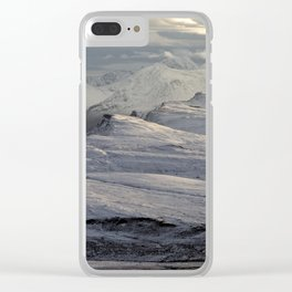 Trotternish Peninsula and Cuillin Mountains Isle of Skye Clear iPhone Case