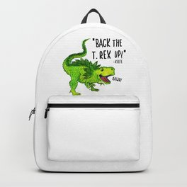 Back the T. Rex up! Backpack