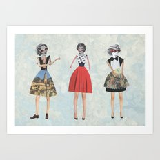 Dress envy Art Print