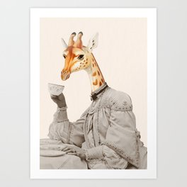 Animal time Art Print