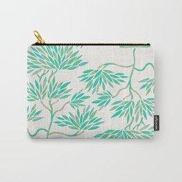 Bonsai Tree – Mint Palette Carry-All Pouch