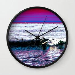 COLOR RIDE Wall Clock