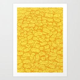 Mac and Cheese Art Print