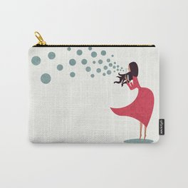 I'm bubbling. That state of absolute happiness when you are ready to fly. Carry-All Pouch