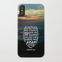 shield iPhone & iPod Cases featuring SHIELD by Pocket Fuel