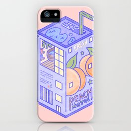 Peach Motel iPhone Case