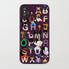 Evil-phabet iPhone Case