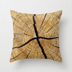Log 3540 Throw Pillow