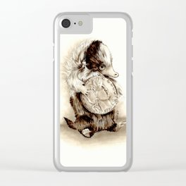 Baby niffler Clear iPhone Case