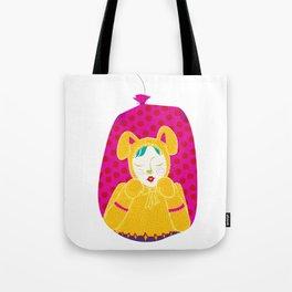 wabbit in a bag - neon version Tote Bag