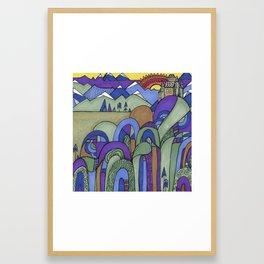 Half Light Framed Art Print