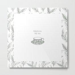 The Spilling of the Tea -V.1- Metal Print