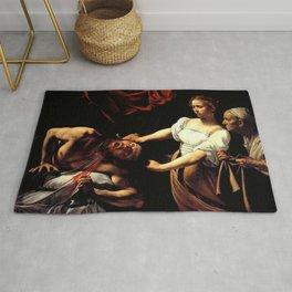 Judith Beheading Holofernes Rug