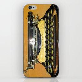 corona vintage typewriter iPhone Skin