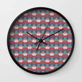 Japanese fan Wall Clock
