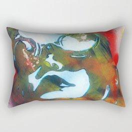 Coal miner lady I Rectangular Pillow