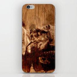Charles Bukowski - wood - quote iPhone Skin