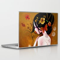 copper Laptop & iPad Skins featuring Copper by Sybile Art
