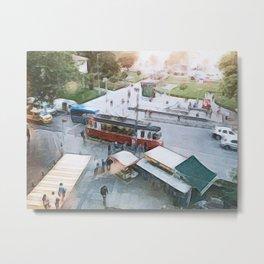 Istanbul, Kadikoy Paint Art Metal Print