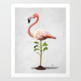 Planted (Wordless) Art Print