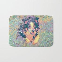 Pastel_Dog_001_by_JAMColors Bath Mat